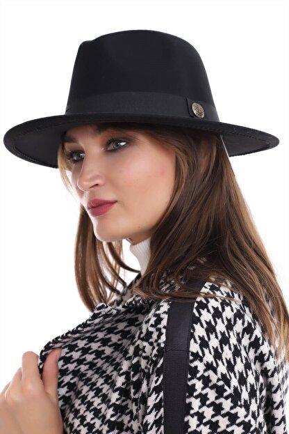 Deafox Siyah Keçeli Fötr şapka Fiyatı Yorumları Trendyol