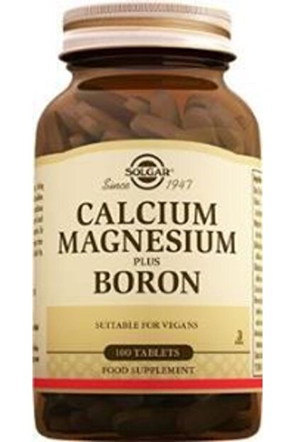 Solgar Calcium Magnesium Plus Boron 100 Tablet
