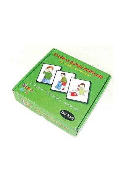 Yuka Kids Eylem Ve Duygu Kartları 130 Kartlı