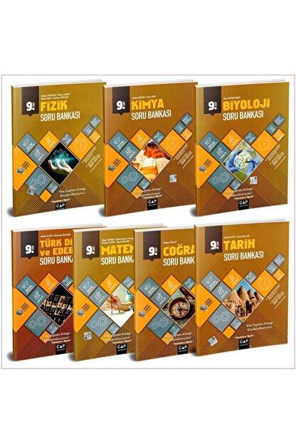 Çap Yayınları Çap 9. Sınıf Anadolu Lisesi Soru Bankası Tam Set 7 Kitap Yeni 2021