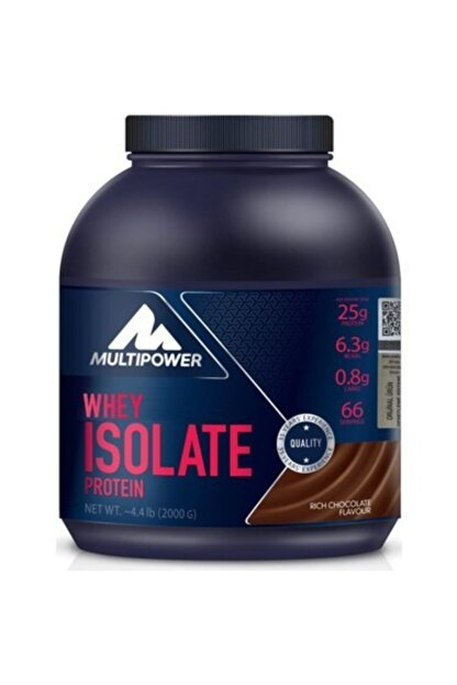 Multipower %100 Whey Isolate Protein 2000 gr - Çikolata
