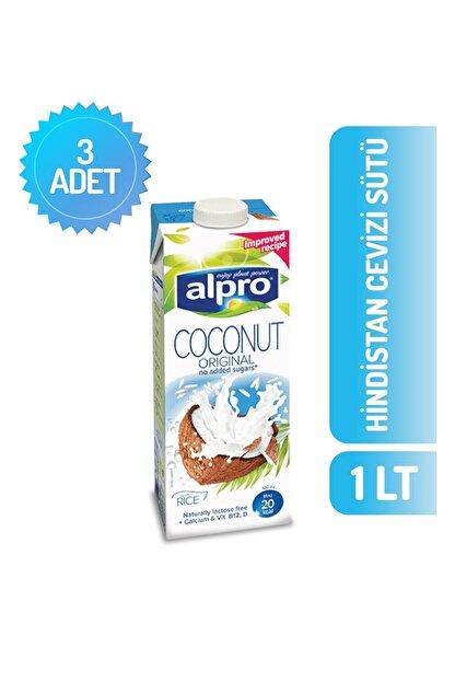 Alpro Hindistan Cevizi Sütü 1 Lt X 3 Adet