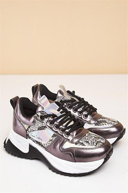 Pierre Cardin PC-30266 Platin Kadın Spor Ayakkabı