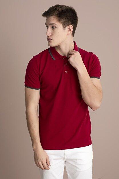 Tena Moda Erkek M.kırmızı Polo Yaka Tişört