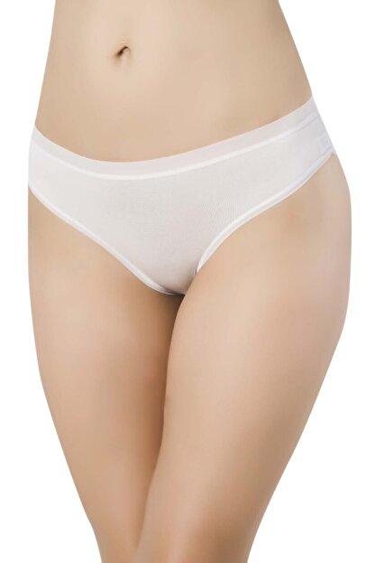 Papatya 2729 Kadın Şeffaf Lastik Micro Modal Bikini