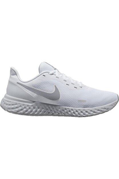 Nike Kadın Beyaz Revolution 5 Spor Ayakkabı Bq3207-100
