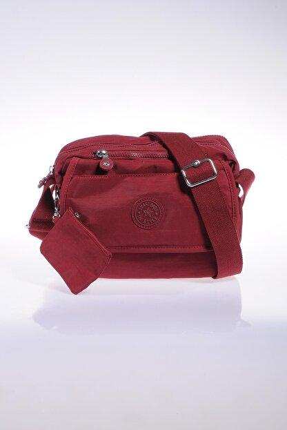 Smart Bags Smb1172-0021 Bordo Kadın Çapraz Çanta