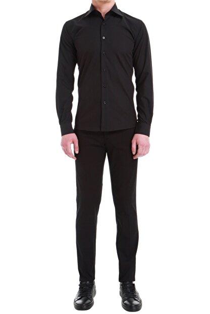 Efor P 1058 Slim Fit Siyah Spor Pantolon