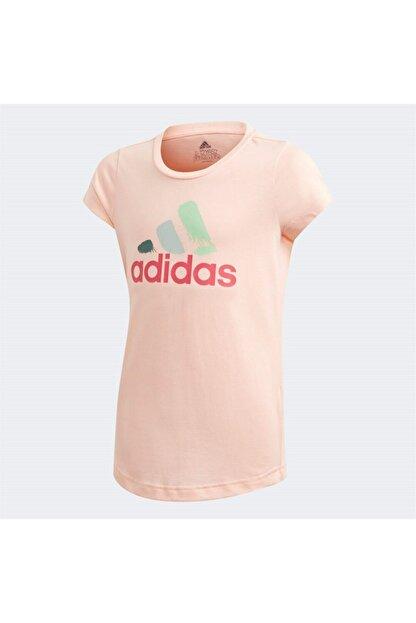 adidas JG BOS GRAPH Pembe Kız Çocuk T-Shirt 101118152