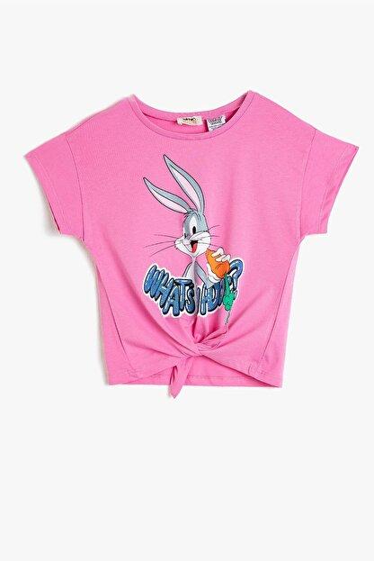 Koton Kız Çocuk Looney Tunes Lisanslı Baskılı T-shirt 0ykg37434ak