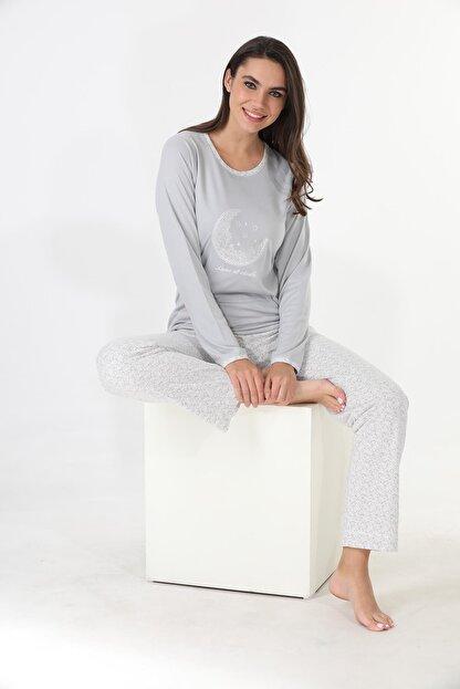 Etoile Ekstra Yumuşak Kumaş Pijama Takımı 98141