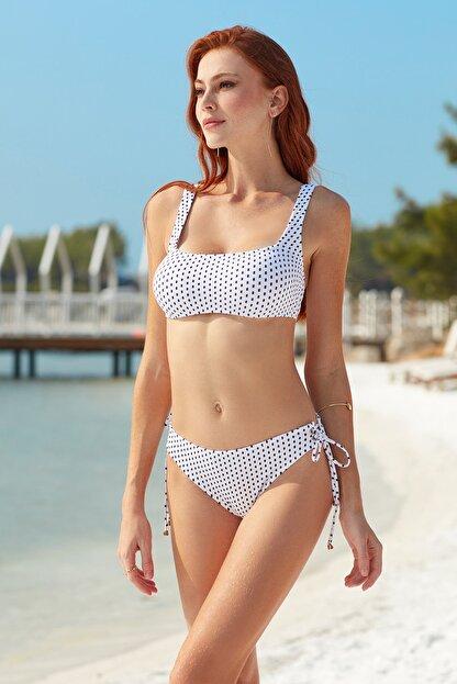 Pierre Cardin Askılı Kare Yaka Bikini Takımı 201248