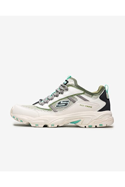 Skechers Stamina 2.0- Berendo Erkek Beyaz/nane Yeşili Ayakkabı 51881 Wmnt