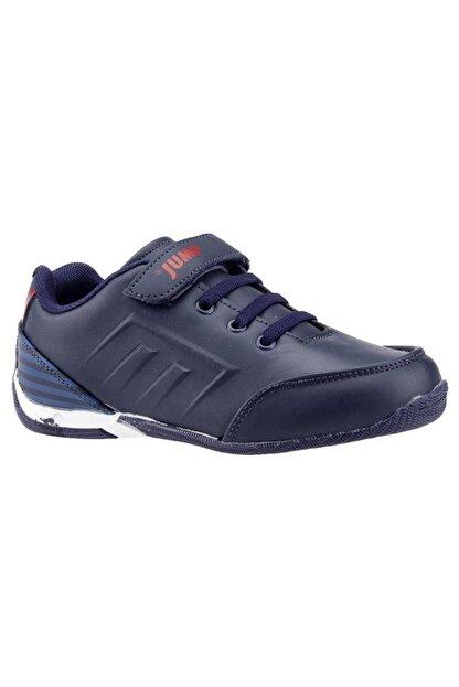 Jump Lacivert Kırmızı Erkek Çocuk Spor Ayakkabı 20810