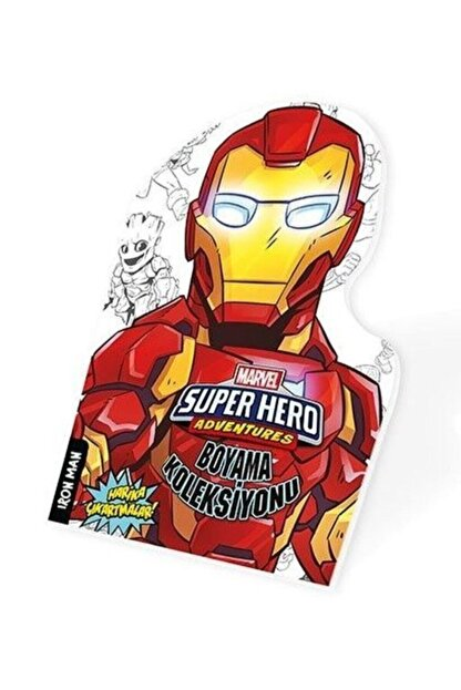 Beta Kids Iron Man - Marvel Süper Kahramanlar Boyama Koleksiyonu