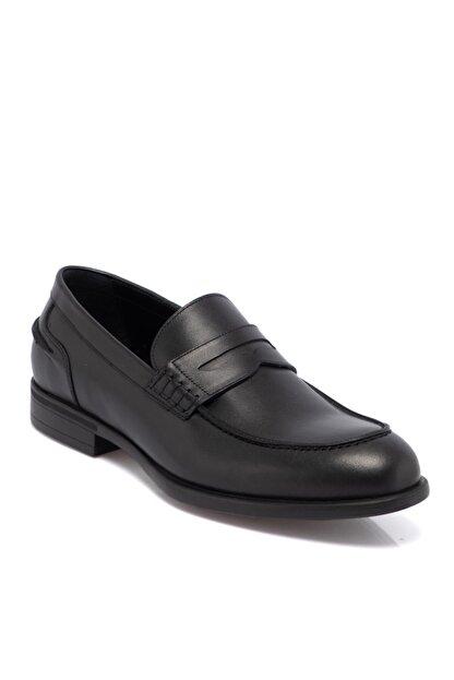 Tergan Siyah Deri Erkek Ayakkabı 55072a43