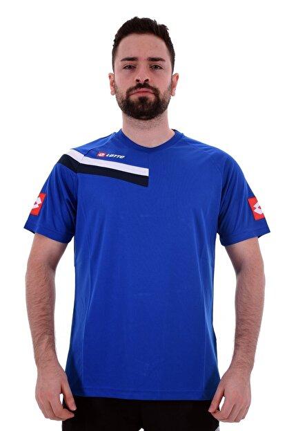 Lotto T-shirt Erkek Mavi/lacivert-trona Tee Pl-r6088