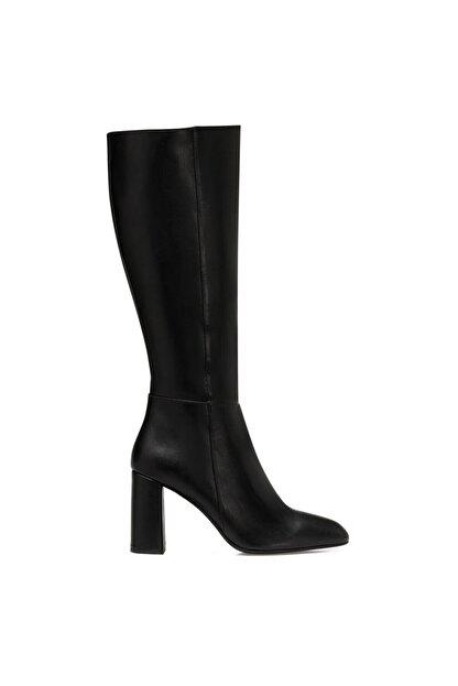 Nine West MARIMBU Siyah Kadın Ökçeli Çizme 100582015