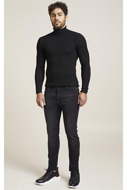 Efor 071 Slim Fit Siyah Jean Pantolon