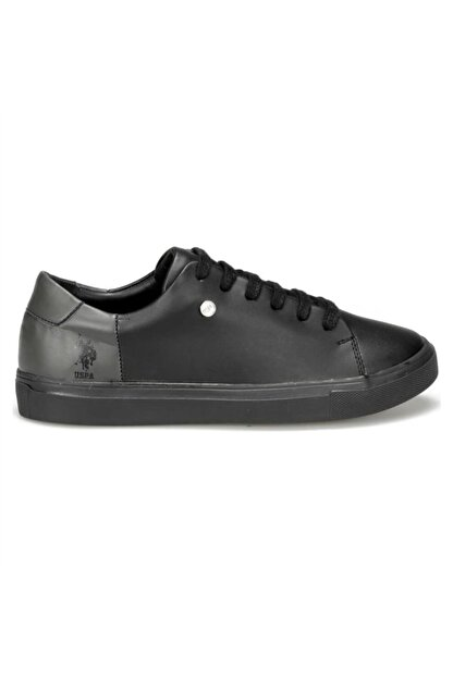 US Polo Assn NORDES 9PR Siyah Kadın Sneaker Ayakkabı 100431396