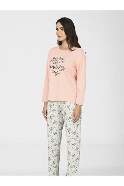 Nbb Unicorn Kadın Pijama Takımı 67077