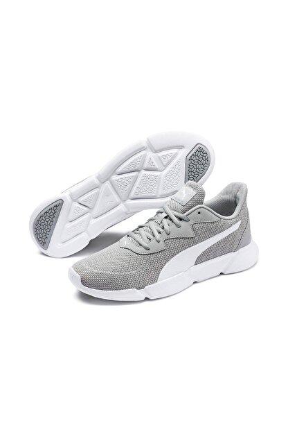Puma INTERFLEX RUNNER Gri Kadın Koşu Ayakkabısı 100547183