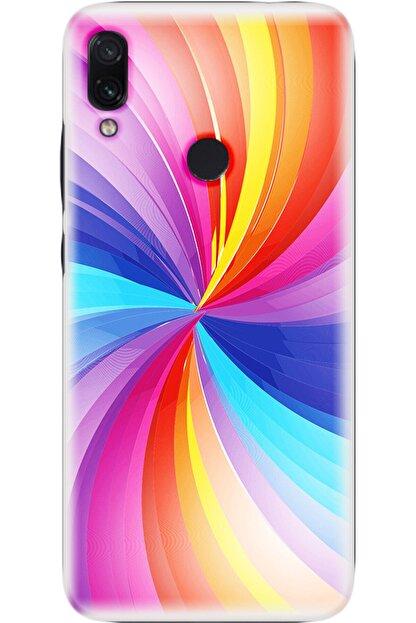 Noprin Xiaomi Redmi 7 Kılıf Silikon Baskılı Desenli Arka Kapak