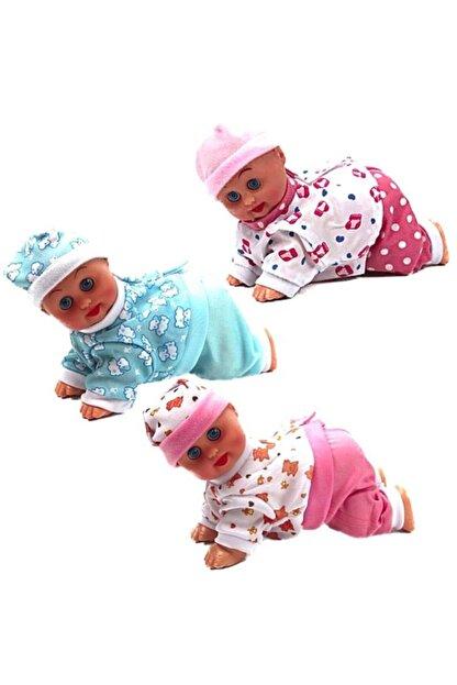 Elasya Hediyelik Müzikli Emekleyen Bebek 22,5cm