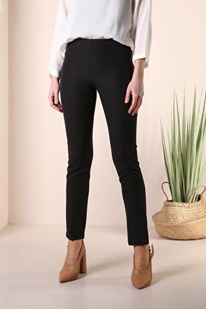 ALLDAY Kadın Siyah Dar Paça Pantolon