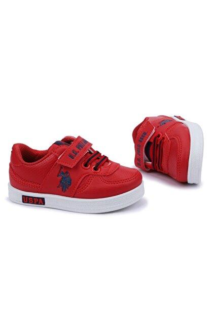 US Polo Assn CAMERON 1FX Kırmızı Erkek Çocuk Sneaker 100909777