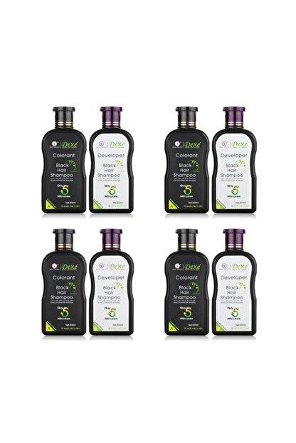 Dexe 4'lü Avantaj Seti - Saç Beyazlık Giderici Şampuan 200 200 ml