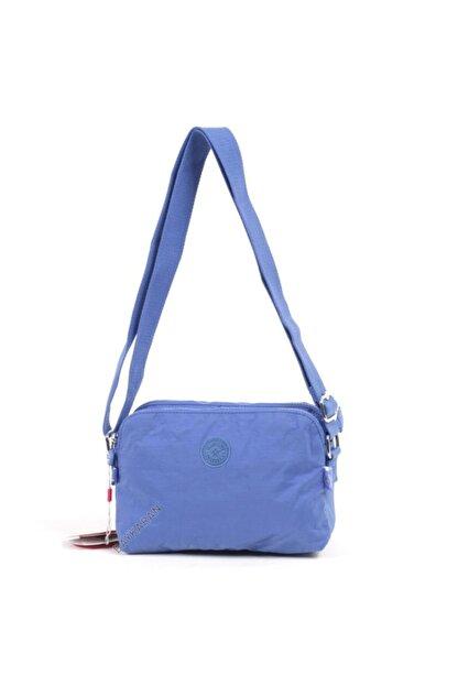 Smart Bags Küçük Boy Postacı Kadın Çantası 3002 Mavi