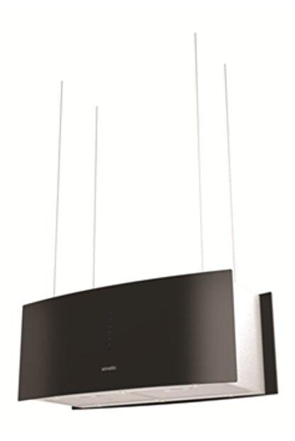 Vinola Mcıb101.111.900 Inox+siyah Cam Digital Ada Tipi Davlumbaz