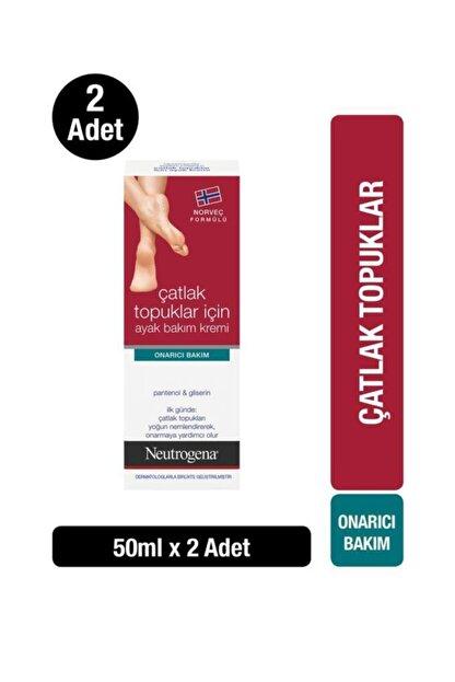 Neutrogena Çatlak Topuk Ayak Kremi 50 ml x2