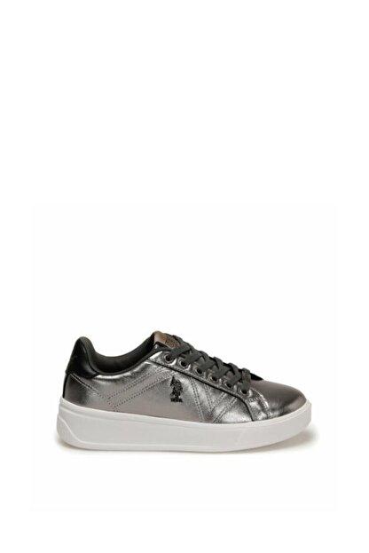 US Polo Assn Kadın Silver Bağçıklı Günlük Ayakkabı 100551351