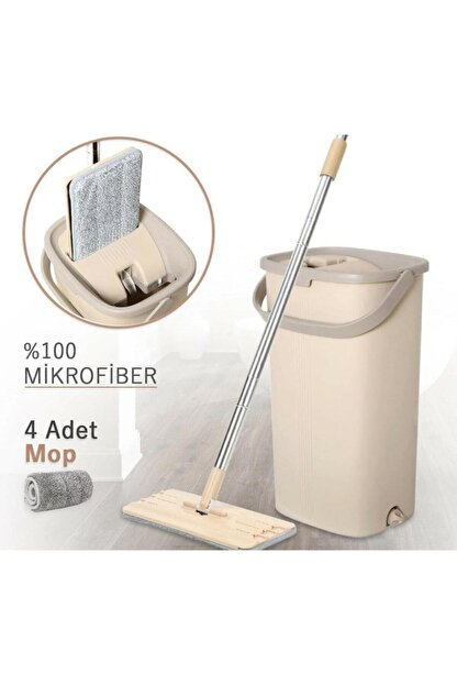Emr züccaciye Arow Magıc Mop Pro Tablet Mikrofiber Mop Temizlik Seti