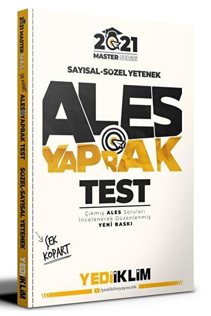 Yediiklim Yayınları 2021 Ales Sayısal Sözel Yetenek Çek Kopart Yaprak Test