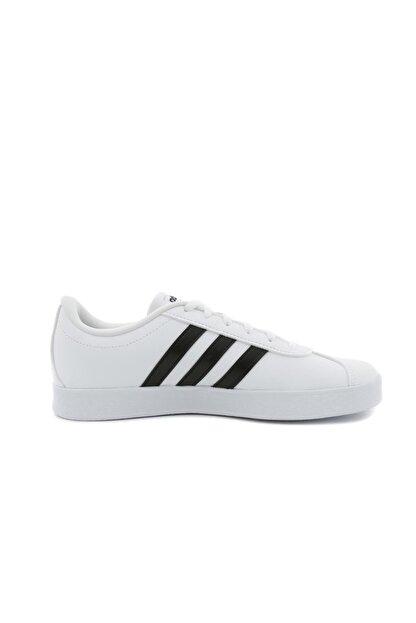 adidas VL COURT 2.0 K -92 Beyaz Siyah Erkek Çocuk Sneaker 100320922
