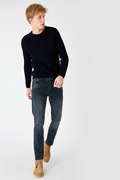 Koton Erkek Indigo Stone Jeans 1KAM43742LDFA6