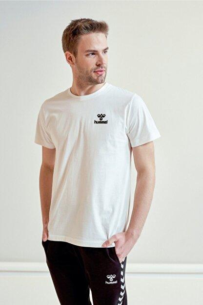 HUMMEL Keaton Beyaz Kısa Kollu T-Shirt
