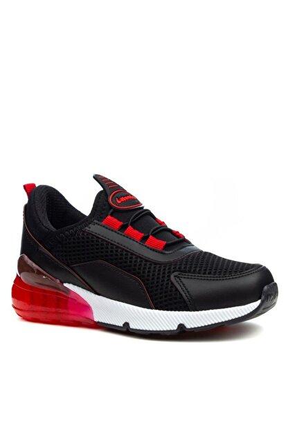 Papuçcity Lafonten Siyah-kırmızı Erkek Çocuk Spor Ayakkabı