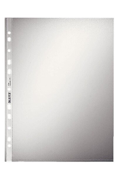 Leitz Poşet Dosya A4 11 Delikli Buzlu 100 Lü Paket