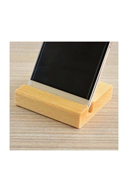 Bibizde Ahşap Telefon Tablet Tutucu Stand