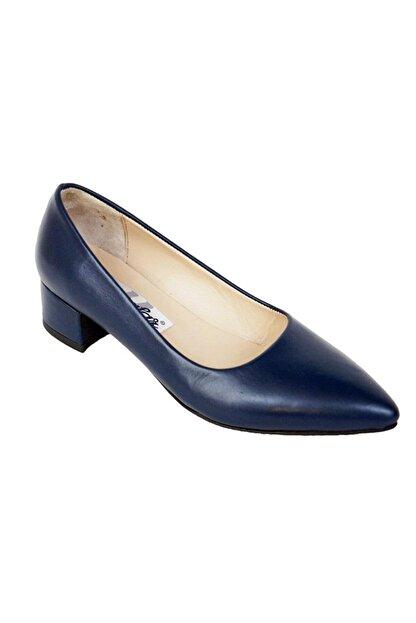 Ustalar Ayakkabı Çanta Lacivert Kadın Hakiki Deri Stiletto 364.2770