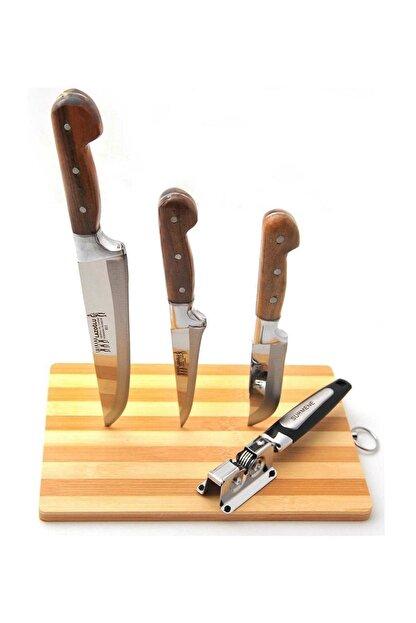Billhom Lazoğlu  Bıçak Seti Ve Bileyici 3'lü