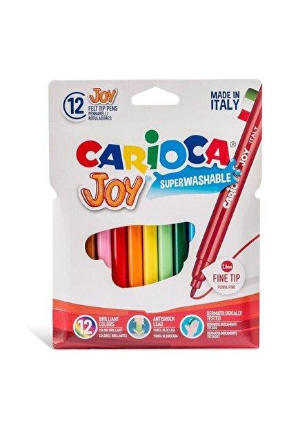 Carioca Joy Süper Yıkanabilir Keçeli Boya Kalemi 12 Li