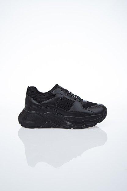 Pierre Cardin Kadın Günlük Spor Ayakkabı-siyah Pc-30061