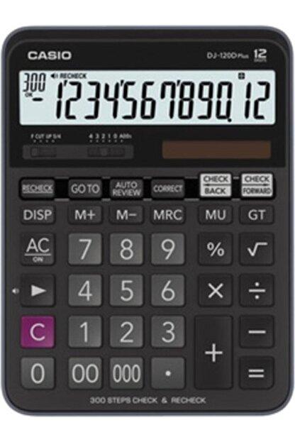 Casio Dj-120d Plus Işlem Kontrollü 12 Hane Masa Üstü Hesap Makinesi