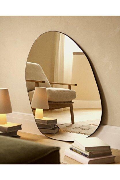 LYN HOME & DECOR Büyük Boy Asimetrik Dekoratif Ayna