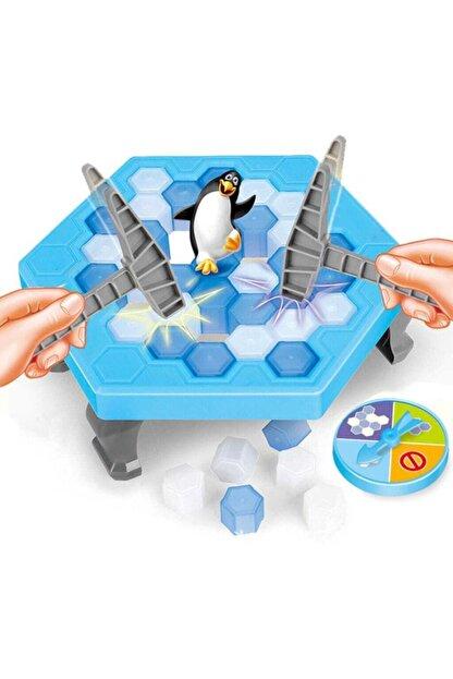 Gökkuşağı Penguen Düşürme Oyunu Buz Tuzağı Oyunu Buz Kırma Çocuk Zeka Ve Strateji Oyunu